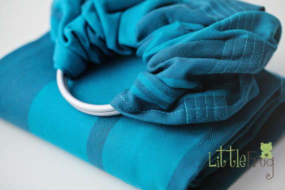 RING SLING LITTLE FROG - MARINE TOPAZ S (1,7 m) / 2nd Quality