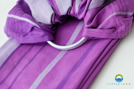 RING SLING LITTLE FROG - AMETHYST M (2 m) /2nd Quality