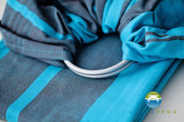 RING SLING LITTLE FROG - AQUAMARINE M (2m)  /2nd Quality